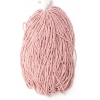 Seedbead Opaque Striped Red And White 10/0 Strung